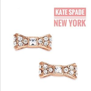 Kate spade mini gold bow studs earring
